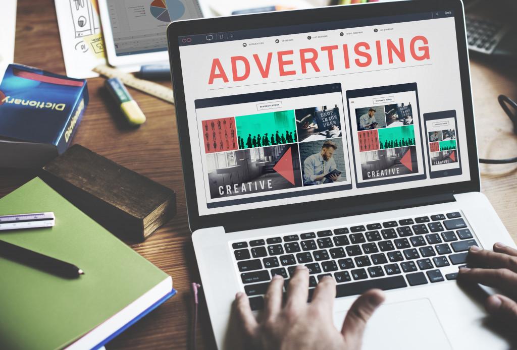 Promote Branding Marketing Concept