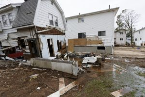 houses after a hurricane