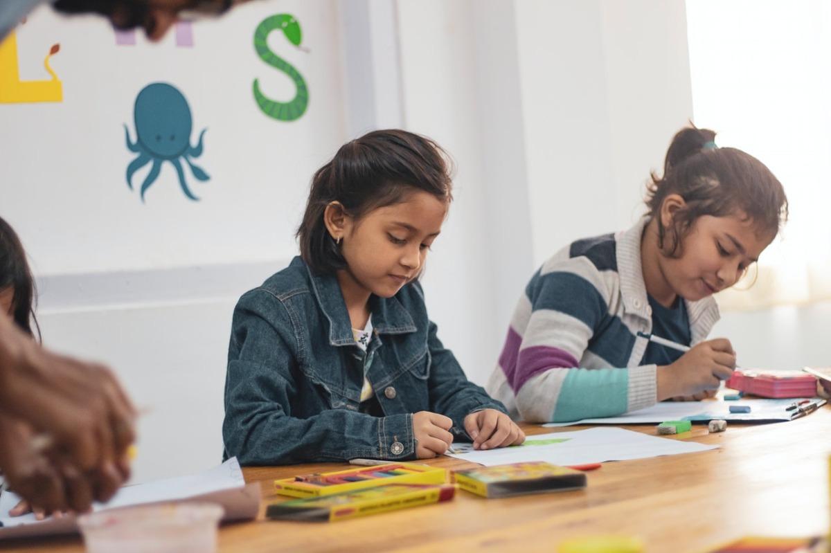 children in daycare