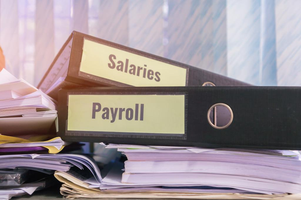 salaries and payroll