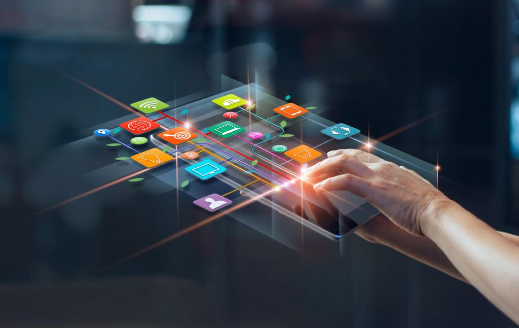 modern digital tech in daily lives