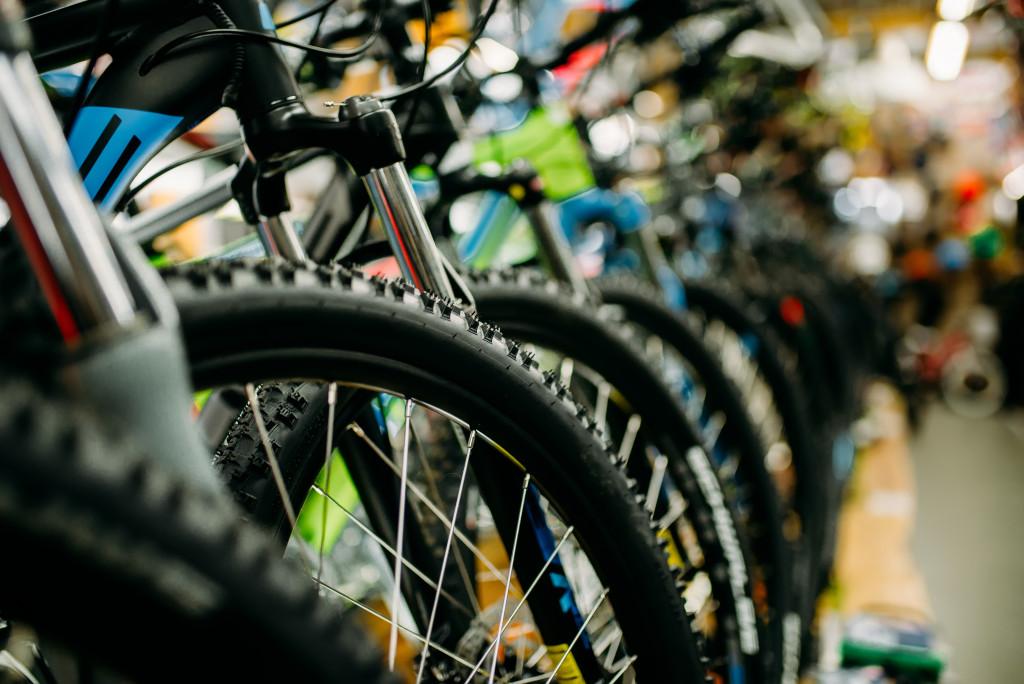 series of bikes